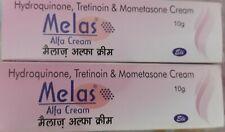 2X Melas Alfa Skin Cream 10g Removes Pimple & hyperpigmentation, Marks From Face
