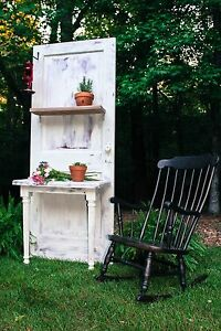 S. Bent & Brother's Rocking Chair and decrative planter. $200 Each