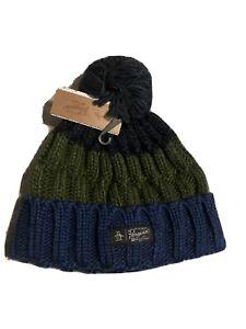 Mens Penguin Bobble Hat