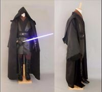 Wars Star Cosplay Costume Jedi Anakin Skywalker Darth Vader Adult Cloak Robe