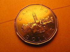 1992 CANADA $1 COIN COMMEMORATING 125TH ANNIVERSARY OF BIRTH OF CANADA