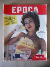 EPOCA n°100 1952 Rita Gam Mussolini e la firma del re Torino Superga  [G770]