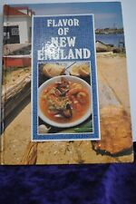 Flavor of New England (1990, Hardcover) Large format profusely illustrated