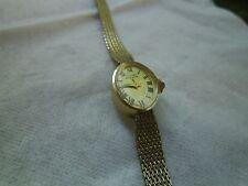 Designer Lucien Piccard Women's Watch 14kt Solid Gold 22216
