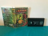 Les aventures d'arthur le dragon VHS tape & clamshell case FRENCH
