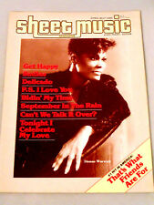 Sheet Music Magazine That's What Friends Are For Easy Piano-Guitar Back Issue