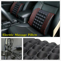 Car Electric Lumbar Massage Cushion Car Seat Back Waist Support Pillow For Rest