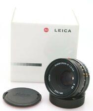 Leica 50mm F2 Summicron R ROM Lens. Boxed Mint. E55. Fits Leica R9 R8 R6 etc