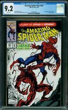 OFFER AMAZING SPIDER-MAN 361 CGC 9.2 CARNAGE MARVEL 1992