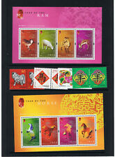 "Stamps, HONG KONG, Chinese ""YEAR OF THE HORSE 2002"", & ""YEAR OF THE RAM 2003"""