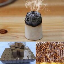 54X Apicultura Herramienta Hive Fumador de combustible de abeja hierba medicinal china hecho miel de humo