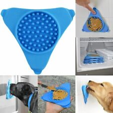 Silicone Dog Slow Feeder Bowl Lick Pad Pet Transfer Plate Bath Buddy Suction Cup