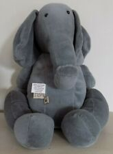 The Boyds Collection Plush Gray Elephant Jointed Limbs Head Turns
