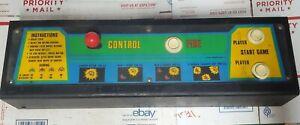 OEM Galaxian Arcade Control Panel