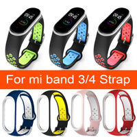 2020 Silicon Wrist Strap WristBand Bracelet for XIAOMI MI Band 4 / MI Band 3 USA