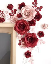 Pa-Ula paper flower wall art, Wall decoration for Nursery and Bedrooms