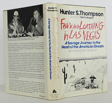 HUNTER S. THOMPSON Fear and Loathing in Las Vegas FIRST EDITION
