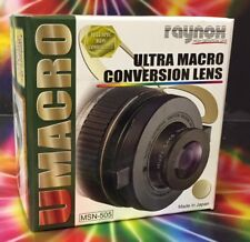Raynox MSN-505 Macro/Close-Up lens to Canon XA10/XF105/XF100/M40/M41/M400/M46