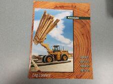 Kawasaki 80Z, 85Z, 90Z & 95Z iv series Log Loaders Literature 8 Pages