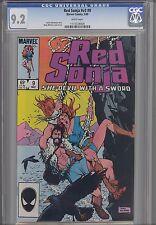 Red Sonja V3 #9 CGC 9.2 1985  Marvel Barbarian Comic  Price Drop!