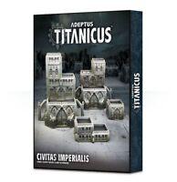 Warhammer 40,000 40k Adeptus Titanicus Civitas Imperialis Games Workshop 400-10
