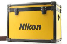 【RARE!!】 Nikon Yellow Aluminum Hard Camera Case From JAPAN #388