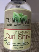 Taliah Waajid Hydrating Curl Shine Daily Leave In Styling Conditioner 4oz
