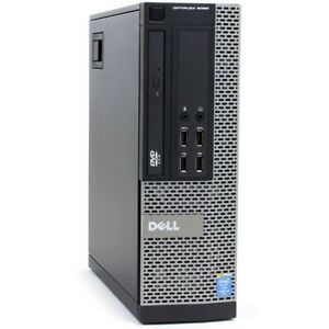 Dell Optiplex 9020 SFF Intel Core i5 4570 3.20Ghz 8Gb Ram 128gb SSD Win 10 Pro
