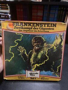 Super 8 Film War Or The Gargantuas Color German Sound 400' Super Rare! Godzilla