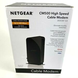 NETGEAR CM500 16x4 DOCSIS 3.0 300Mbps High Speed Cable Modem