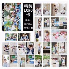 30pcs Set KPOP BTS Photo Poster Bangtan Boys Summer Package LOMO CARD JIMIN JIN