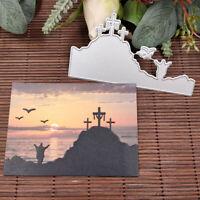Easter Cross Metal Cutting Dies Stencil Scrapbooking DIY Album Paper Card Craft