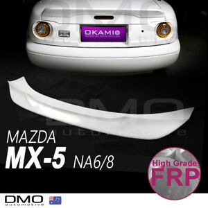 Mazda MX-5 Miata NA 89-98 OKAMI TR-style Ducktail rear spoiler FRP