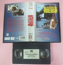VHS Film C'ERA UNA VOLTA IN AMERICA Robert De Niro Sergio Leone (F164) no dvd