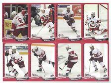 2005-06 Port Huron Flags (UHL) complete 28 card set