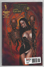 TAROT WITCH OF THE BLACK ROSE #91 CVR B DELUXE LITHO ED. W/SIGNED PRINT #358/500