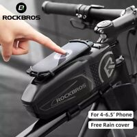 RockBros Cycling Bike Front Top Tube Frame Bag Waterproof For 4-6.5' Front Phone