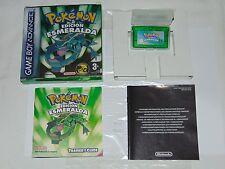 Game Boy Advance: Pokemon Edición Esmeralda (versión ESP, Pila Nueva)