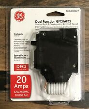 Ge Thql1120df Thql1120dfp Dual Function Afcigfci Breakers 20anew