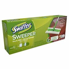 Swiffer Sweeper Complete Pack with 2 Dry Sweeping Cloths & 1 Wet Mopping Cloths