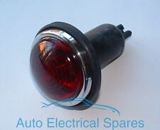 Tipo Lucas L488 freno posteriore / stop & Tail Lampada / Luce in Vetro Rosso Completo
