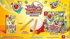 Taiko no Tatsujin Drum 'n' Fun! Bundle Box - Nintendo Switch Game + Drums Set
