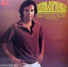 HERB ALPERT'S Tijuana Brass / Warm LP