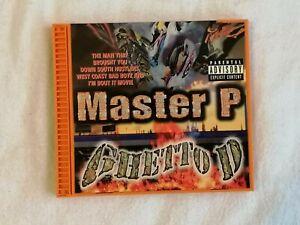 MASTER P - Ghetto D (CD) NO LIMIT RECORDS *1997*