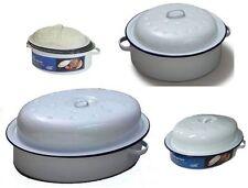 Enamel Easy Clean Round Casserole Pans