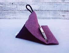 Handmade mobile phone holder cell pillow Ipad cushion stand Mother's day gift