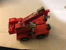 Transformers 4.5? Red Crane Landfill Vehicle Hightower Rid 2001