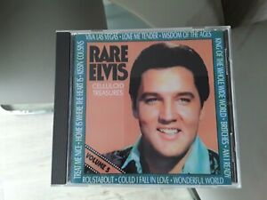 Elvis Presley Rare Elvis Vol 5 Cd celluloid treasures