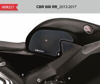 Protezioni laterali nere per serbatoio e carena HONDA CBR 600 RR_2013-2017