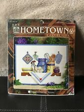 Country Shelf Hometown Collection #5337 Cross Stitch Kit, Designs for the Needle